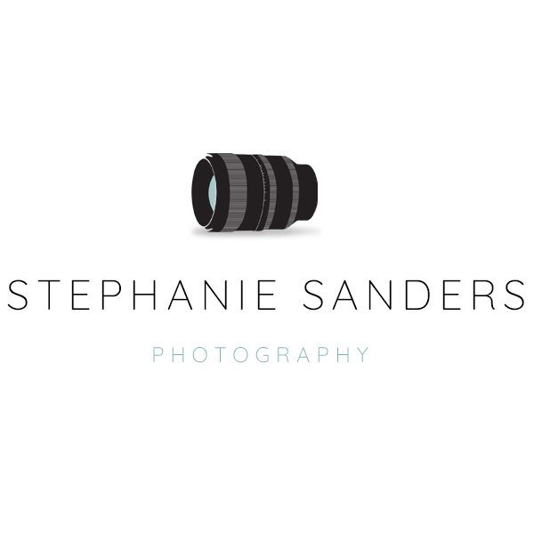 Photoshop logo template for a photography business