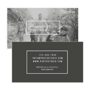 Family Photography Business Card