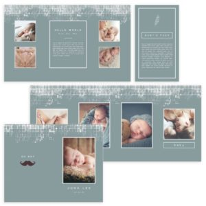 4X8 Accordion Book Template