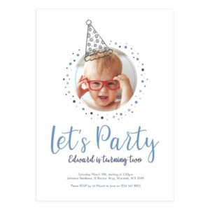 photoshop birthday invitation card template