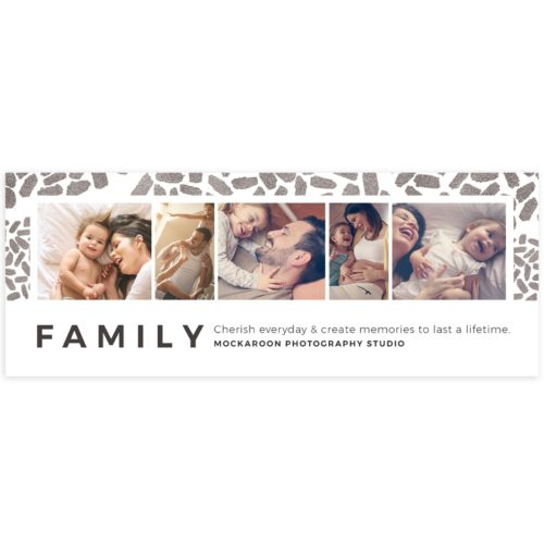 Family Facebook Cover template