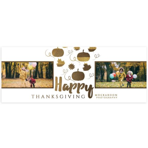 Thanksgiving Facebook Cover Photo for Photographers