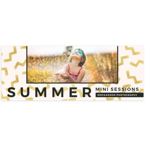 Summer Facebook Cover Template for Photographers