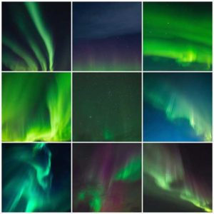 Northern Lights Sky Overlays