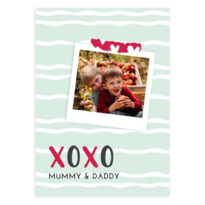 Photo Insert Valentines Day Card