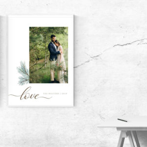 Photographer Wall Art Template