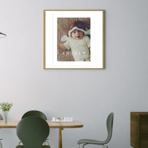 Newborn Wall Art Template 8X10