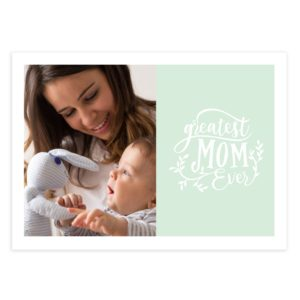 Mothers Day Photoshop Card Template