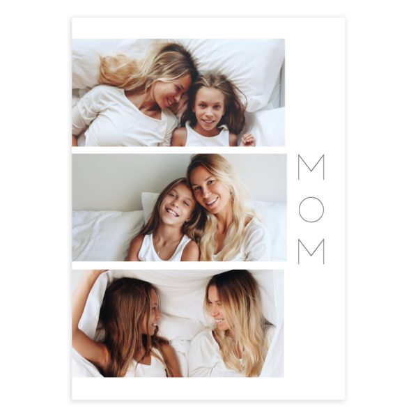 Simple Photoshop Mother's Day Card Template