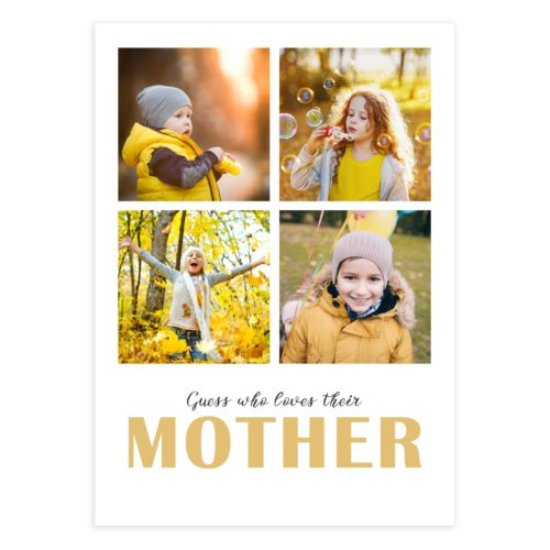 Photoshop Mother's Day Card