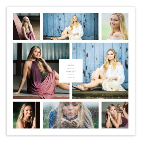 20X20 Collage Template for Photographers
