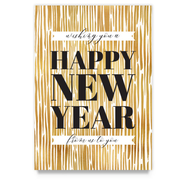 new years card photoshop template