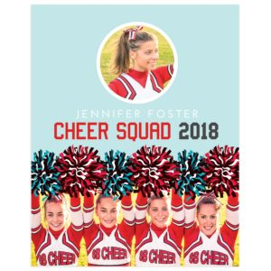 cheerleading sports template