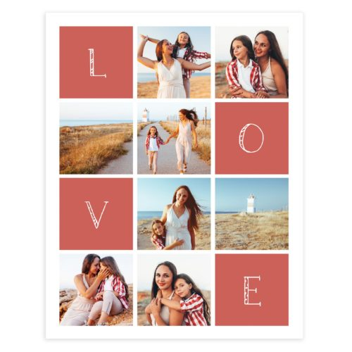 16X20 Wall Art Collage Template