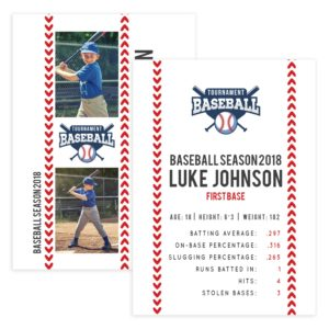 Baseball Trader Card Template