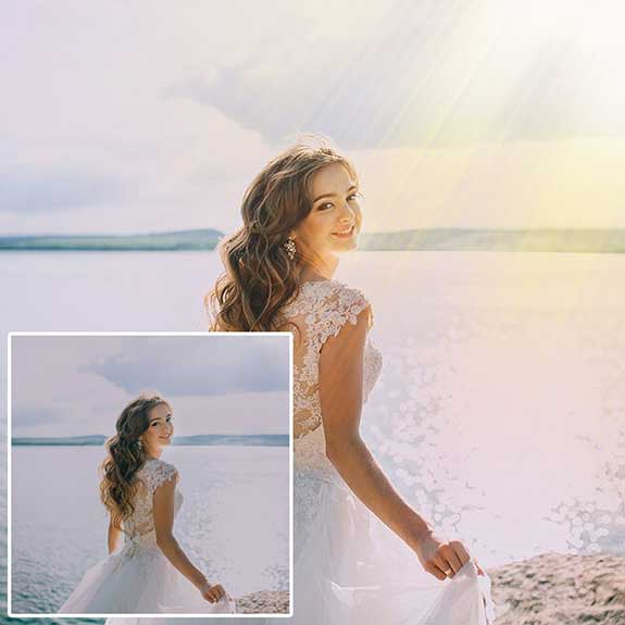 Wedding Light Overlays