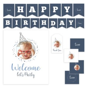 Printable Birthday Party Templates Set