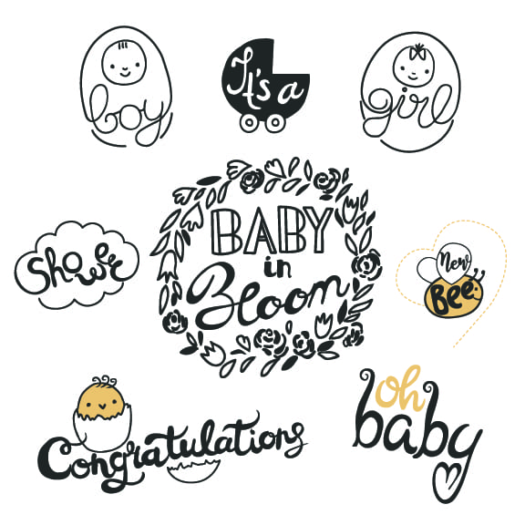 baby shower word