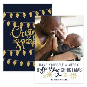 Photoshop Christmas Card Template for Photography Clients