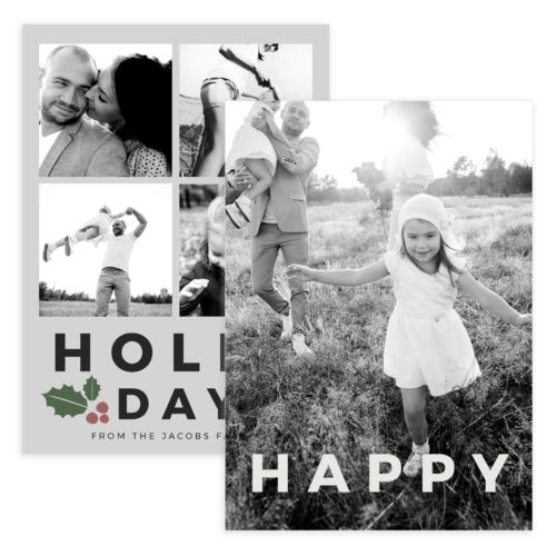 5X7 Holiday PSD Template for Photography Gifts