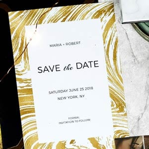 Save the Date Photoshop Templates