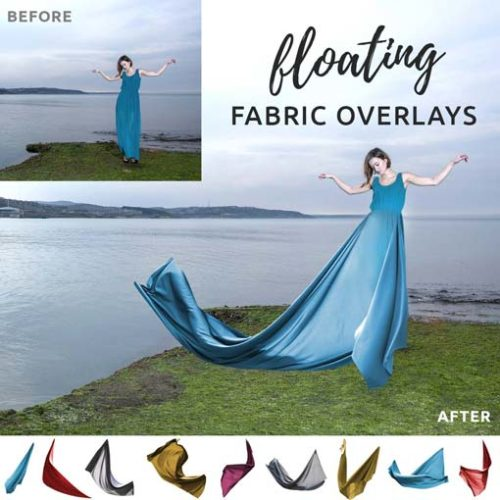 floating fabric overlays