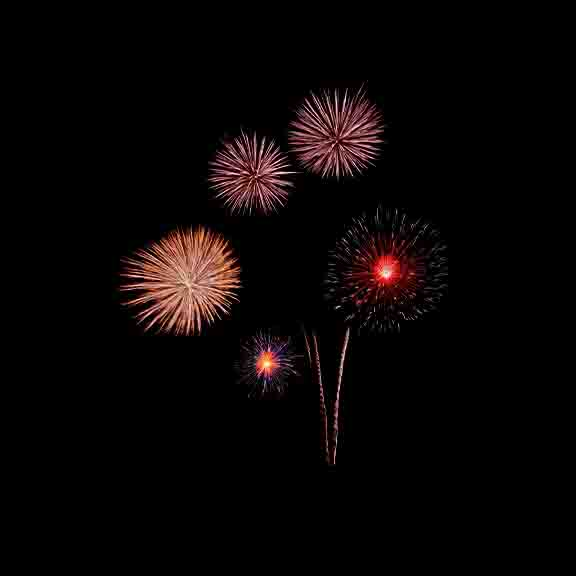 Fireworks PNG Overlay