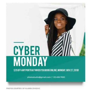 cyber monday marketing board