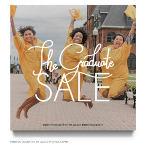 graduate sale marketing board template