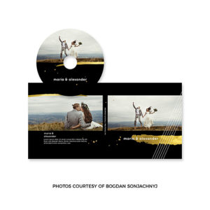 Wedding CD Label Template for Photographers