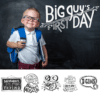 back to school word art overlays