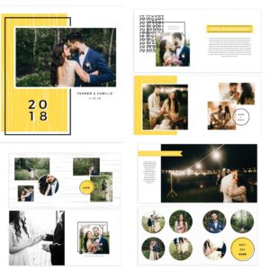Photographer Album Template
