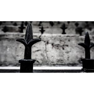 fence post royalty free image