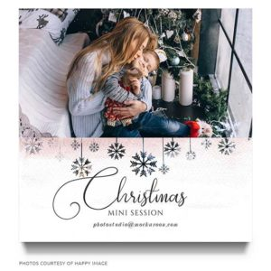 Christmas Photography Marketing Template