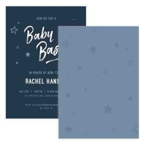 Baby Shower Invite Template