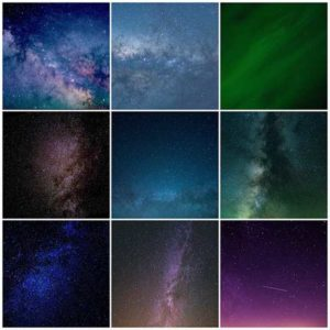 Night Sky Overlays