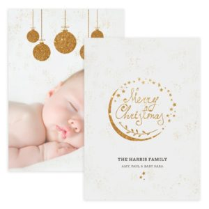 Photoshop Christmas Card Template