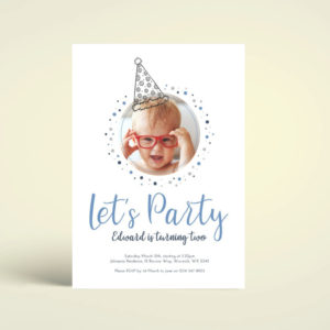pintable birthday party invite template