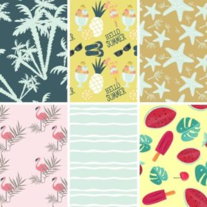 Summer Pattern Backgrounds