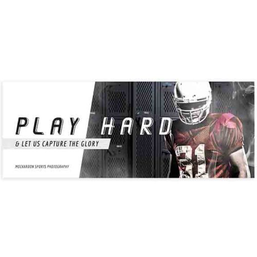 sports facebook cover template