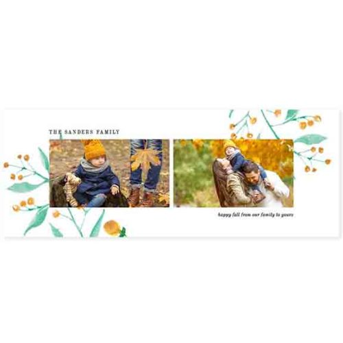 fall facebook cover template
