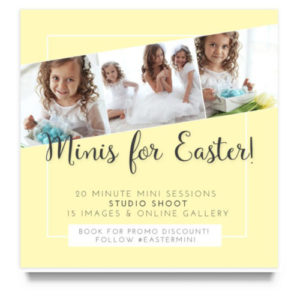 Easter Mini Session Templates