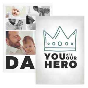 First Fathers Day Card Template