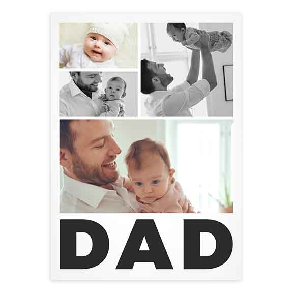 First Fathers Day Card
