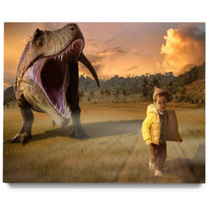 Dinosaur Field Digital Background