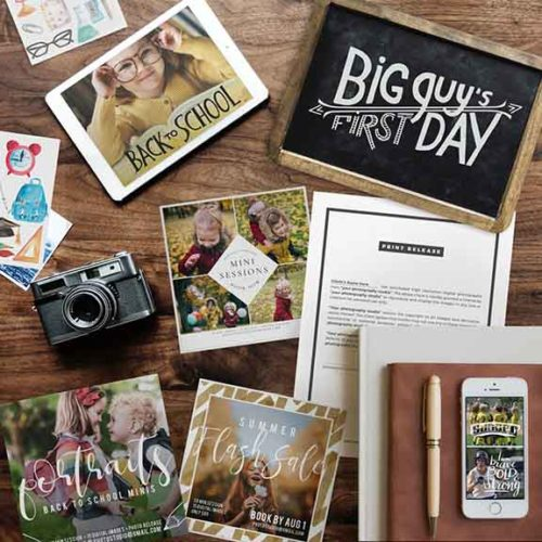 August Marketing Kit for Photographers
