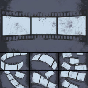 Film Strip Digital Backgrounds