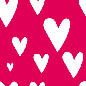 Red Hearts Digital Background for Photographers