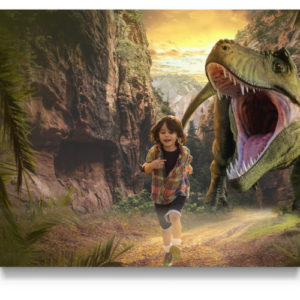 Dinosaur Jungle Digital Background for Photographers