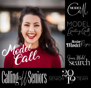 Model Call word art overlays
